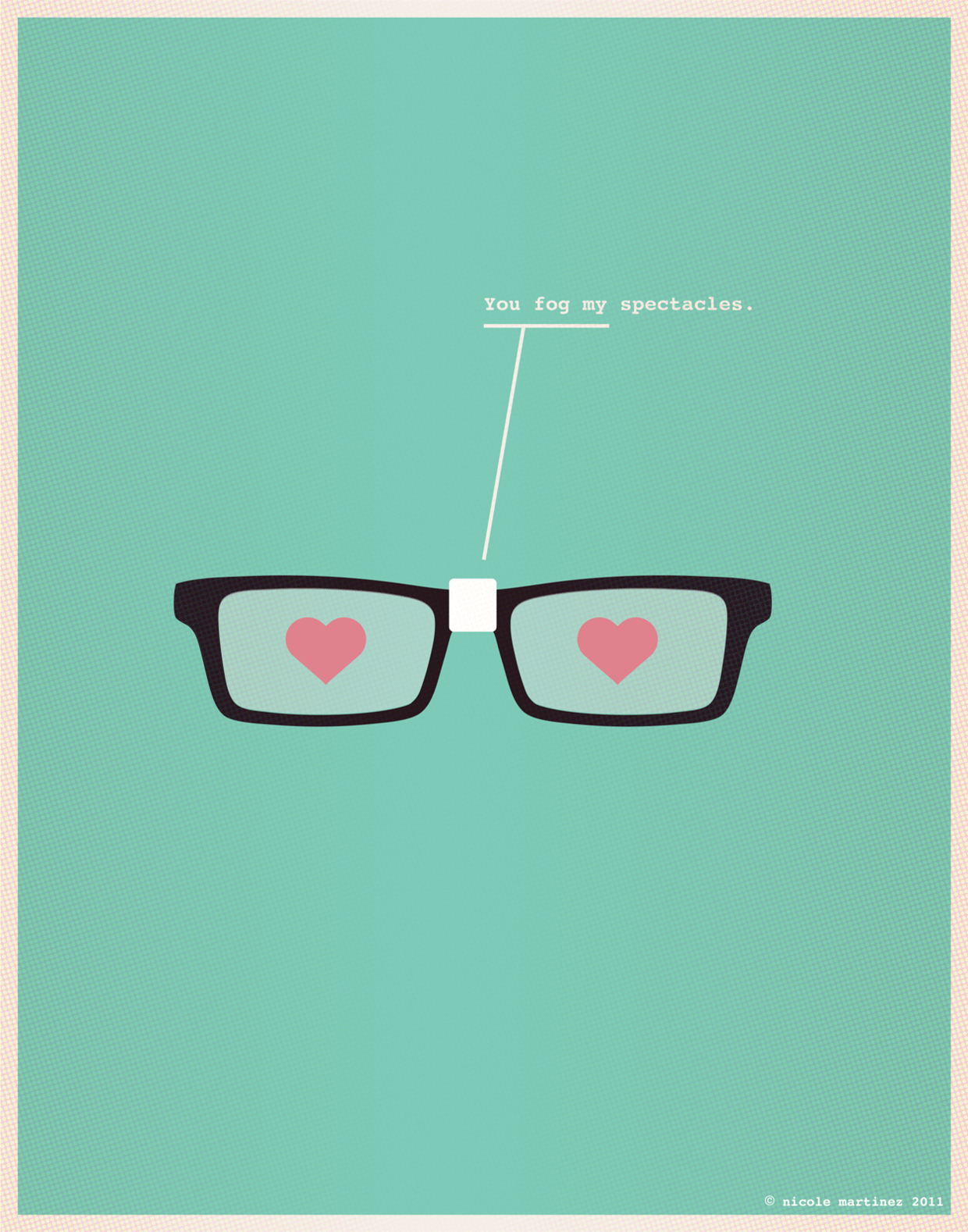 Nerdy Dirty - Illustration for Nerds in Love