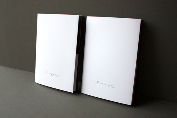 Simpson's Brochure Pack