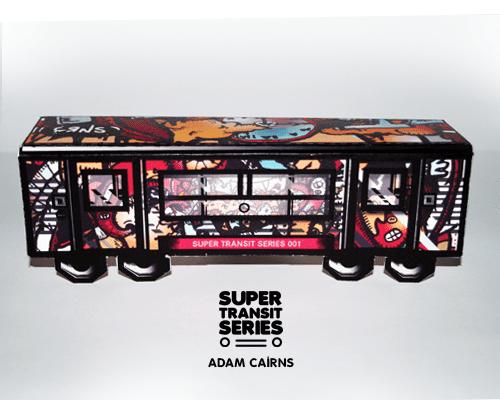 Super Transit Series: The Big Paper Toy Bombing