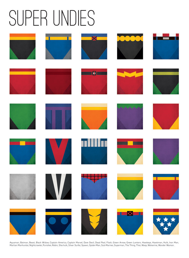 Super Undies - Superhero Underwear