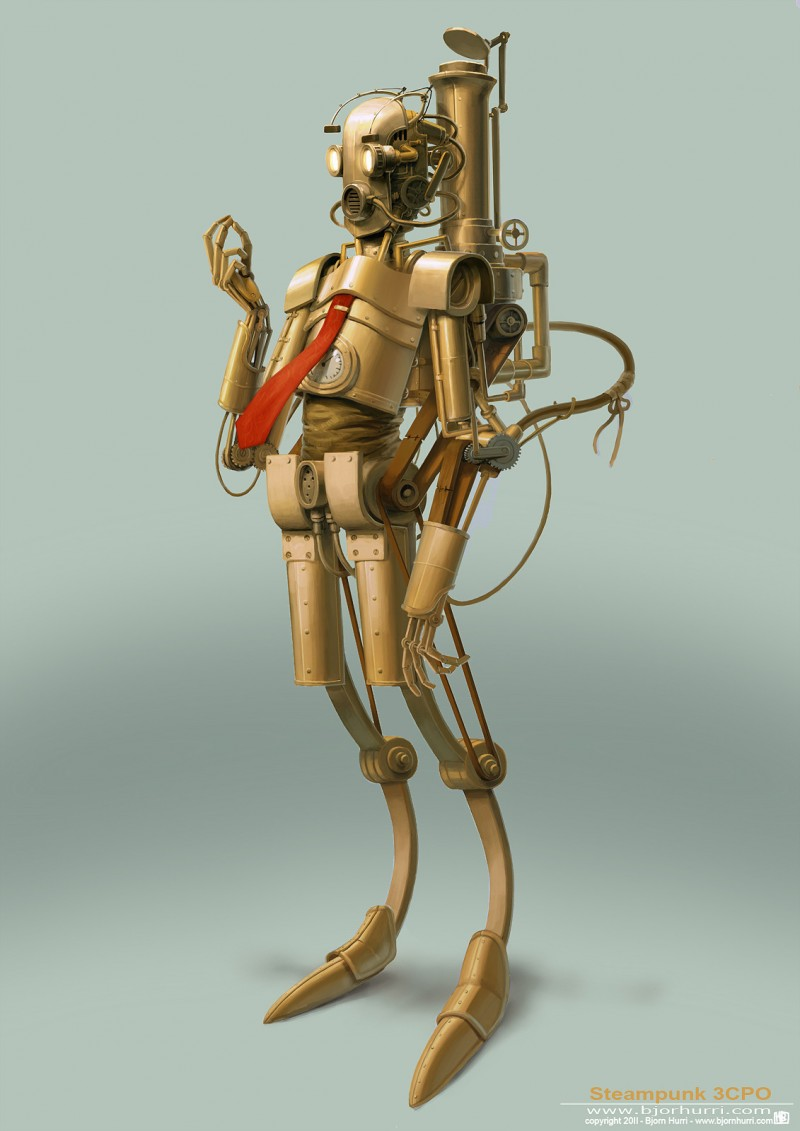 Steampunk Star Wars - 3CPO