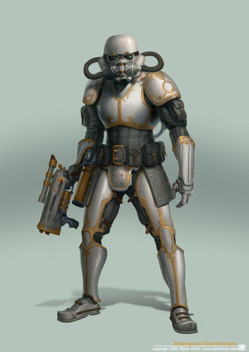 Steampunk Star Wars - Stormtropper