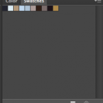Imported .aco file shows our 10 colors