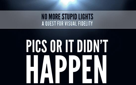 No More Stupid Lights