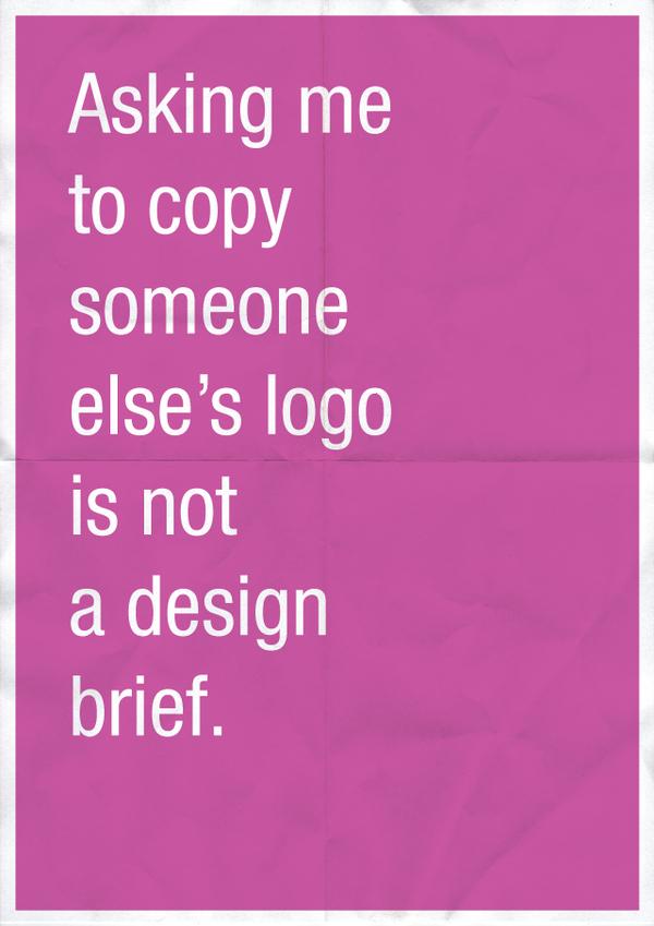 Confession of a Designer