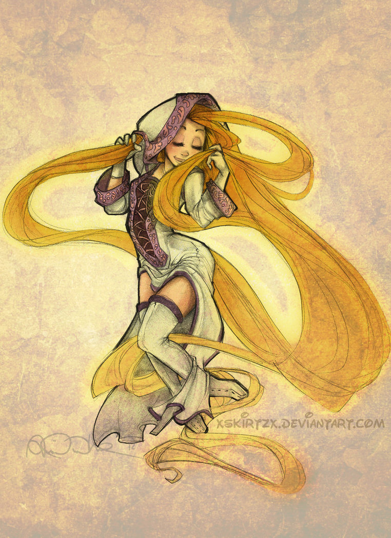 White Mage Rapunzel