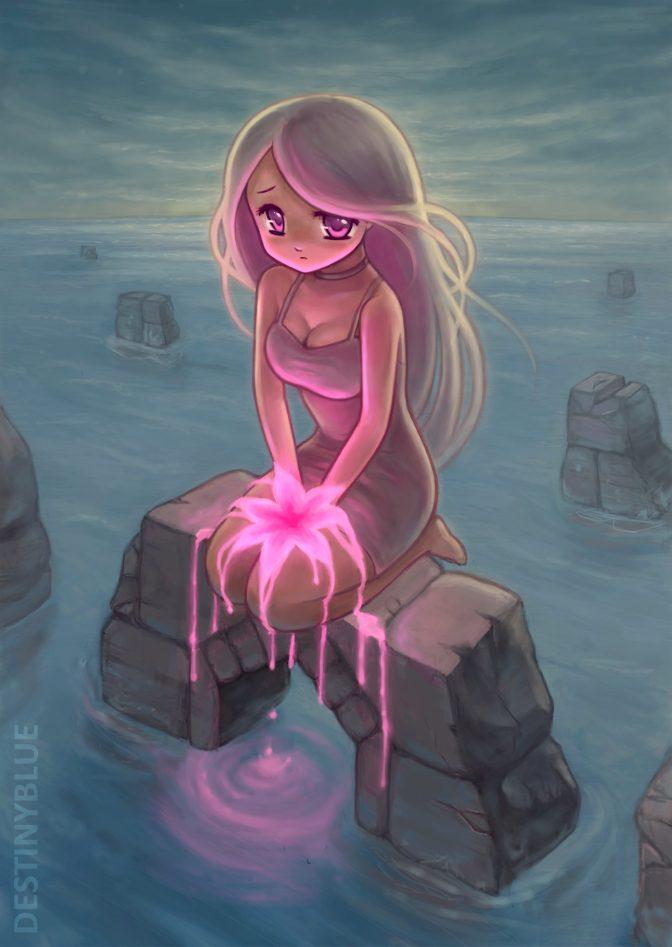 Beautiful Anime Art By Destinyblue Thearthunters