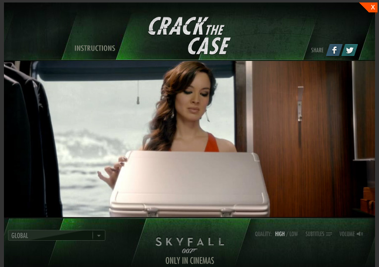 James Bond - Skyfall... Can You Crack the Case?